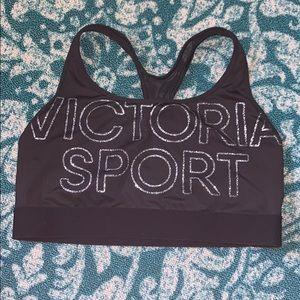 Black VS Sports bra NWOT